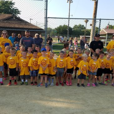 Youth T-Ball Wrap Up