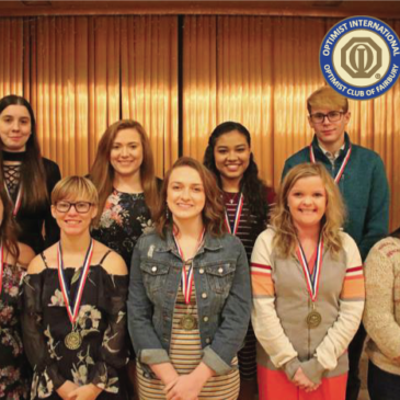 Optimists Honor Area Youth